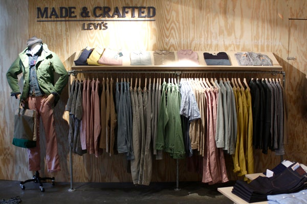 levis made and crafted store