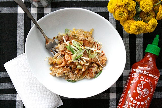 The Quickest Fried-Rice Recipe Ever