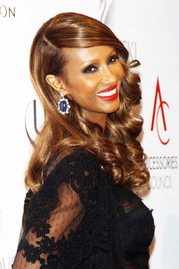 Iman Is So Beautiful. That Is All.