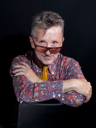 Of All The Crazy Fashion People, Simon Doonan Would Commit Himself First