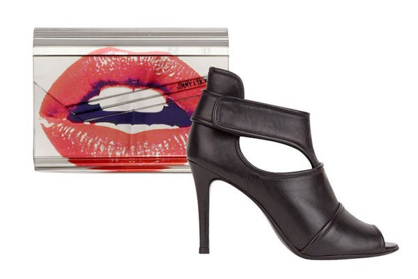 New Years Eve Accessories - Purse And Shoe Pairings