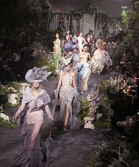 See Fashion Week's Most Dramatic Stages