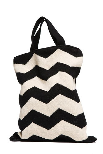 hostessgifts-striped tote bag