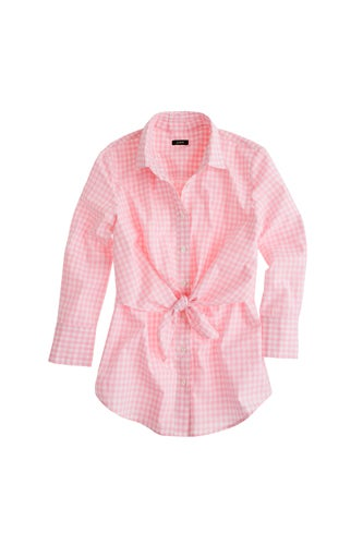 Alutzarra-Pink-Gingham-Top