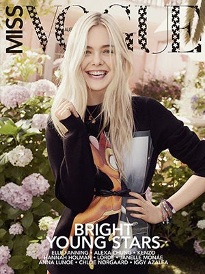 Elle Fanning Out-Adorables Herself On Miss Vogue