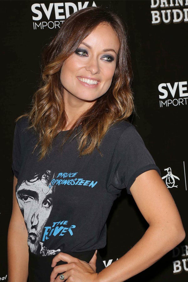 Olivia Wilde Teaches The World How To Glam Up A Tee