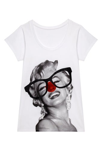 Marilyn Monroe women's fitted t-shirt £14.99