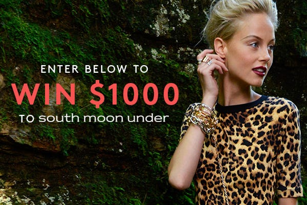 Who Wants $1,000 Of Free Fashion Goodies?