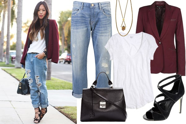 How To Wear Boyfriend Jeans Cute Casual Outfits