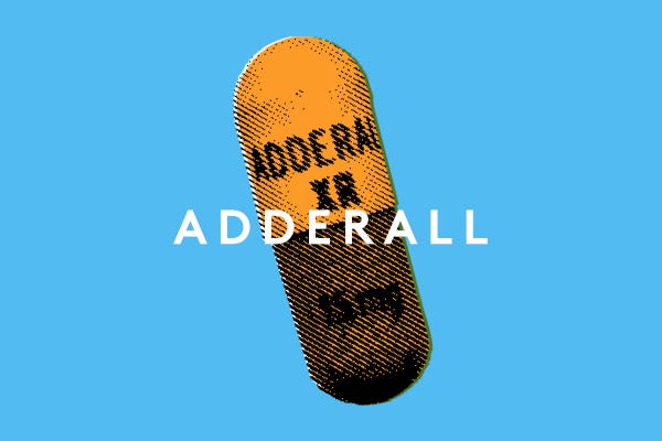 Adderall Abuse - Health Risks Drug Recreational Use