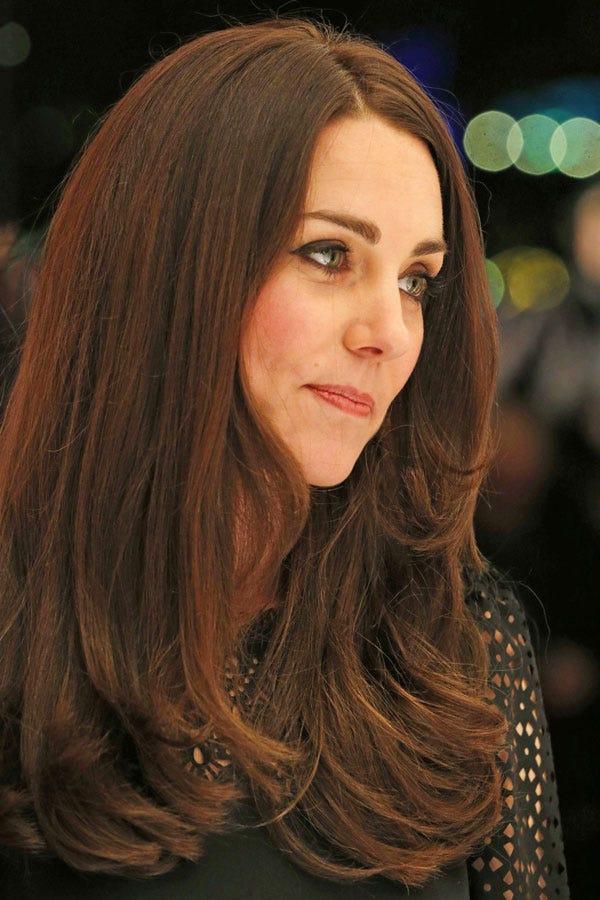 Kate Middleton Brunette Duchess Catherine Hair Color