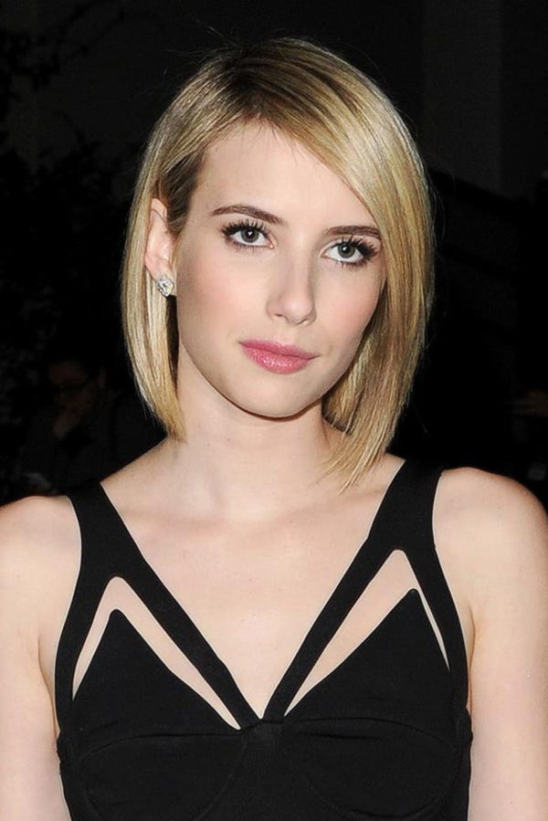 Emma Roberts Short Haircut