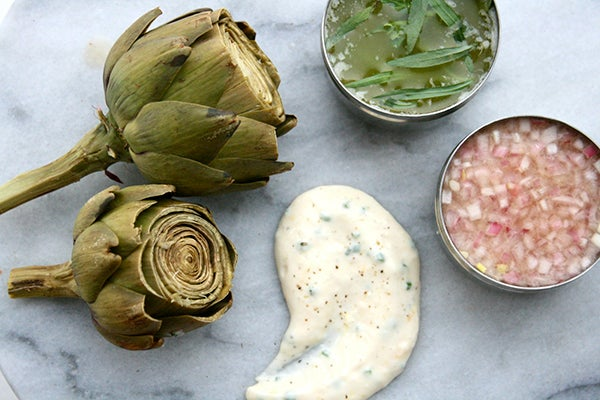 Easiest Steamed Artichokes Ever