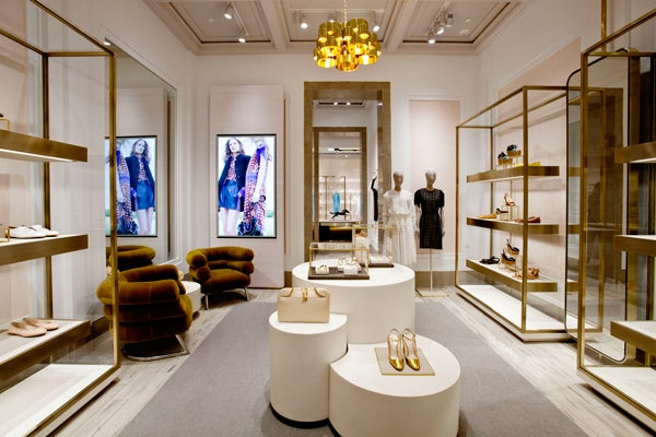 ... there was a sign that read