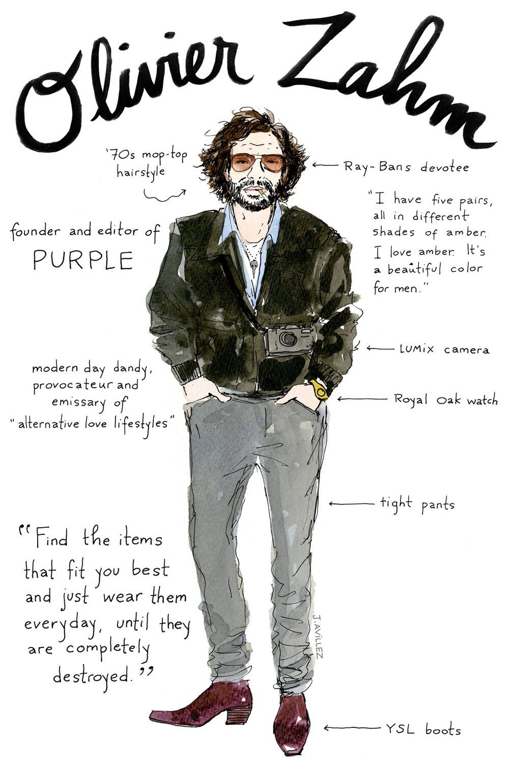 Olivier Zahm — founder and editor