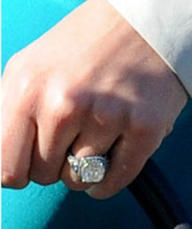 Jessica Biel Engagement Ring Jessica Biel And Justin