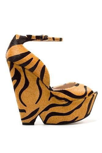 Zara Tiger Wedge