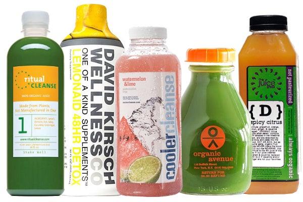 Photos: Via Ritual Cleanse, David Kirsch Wellness, Cooler Cleanse, Organic Avenue, The Juice Press