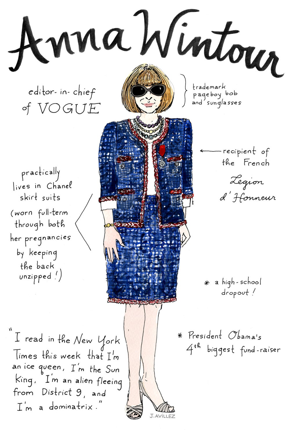 Anna Wintour — editor-in-chief