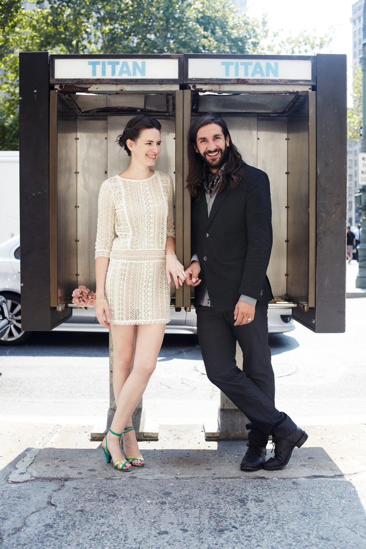 Hypnotherapist Maeva Althaus-Veron and cinematographer Carlos Veron met at the Jane Hotel
