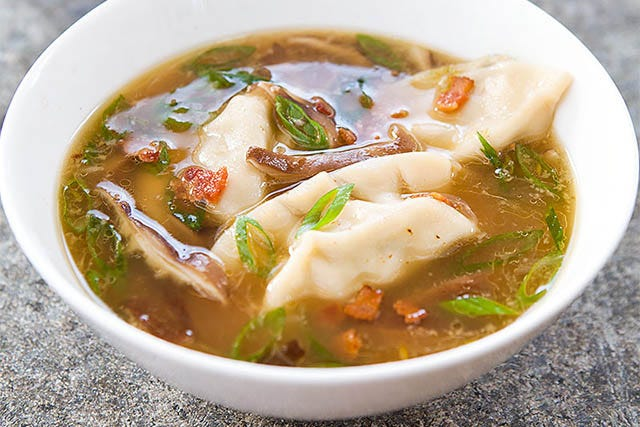 Asian-Style Dumpling Soup To Keep You Warm This Winter