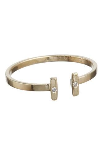 Loren Stewart Two Diamond Adjustable Ring