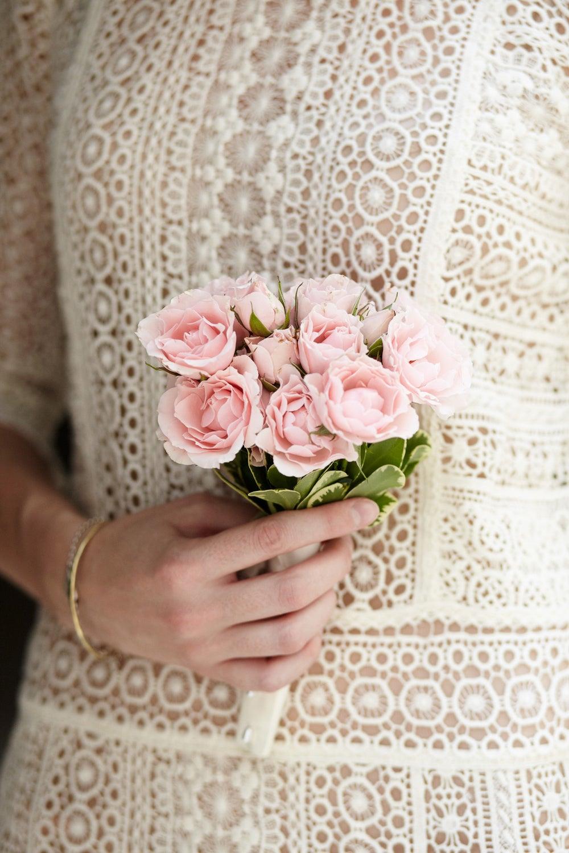 A pretty bouquet for a pretty ceremony.