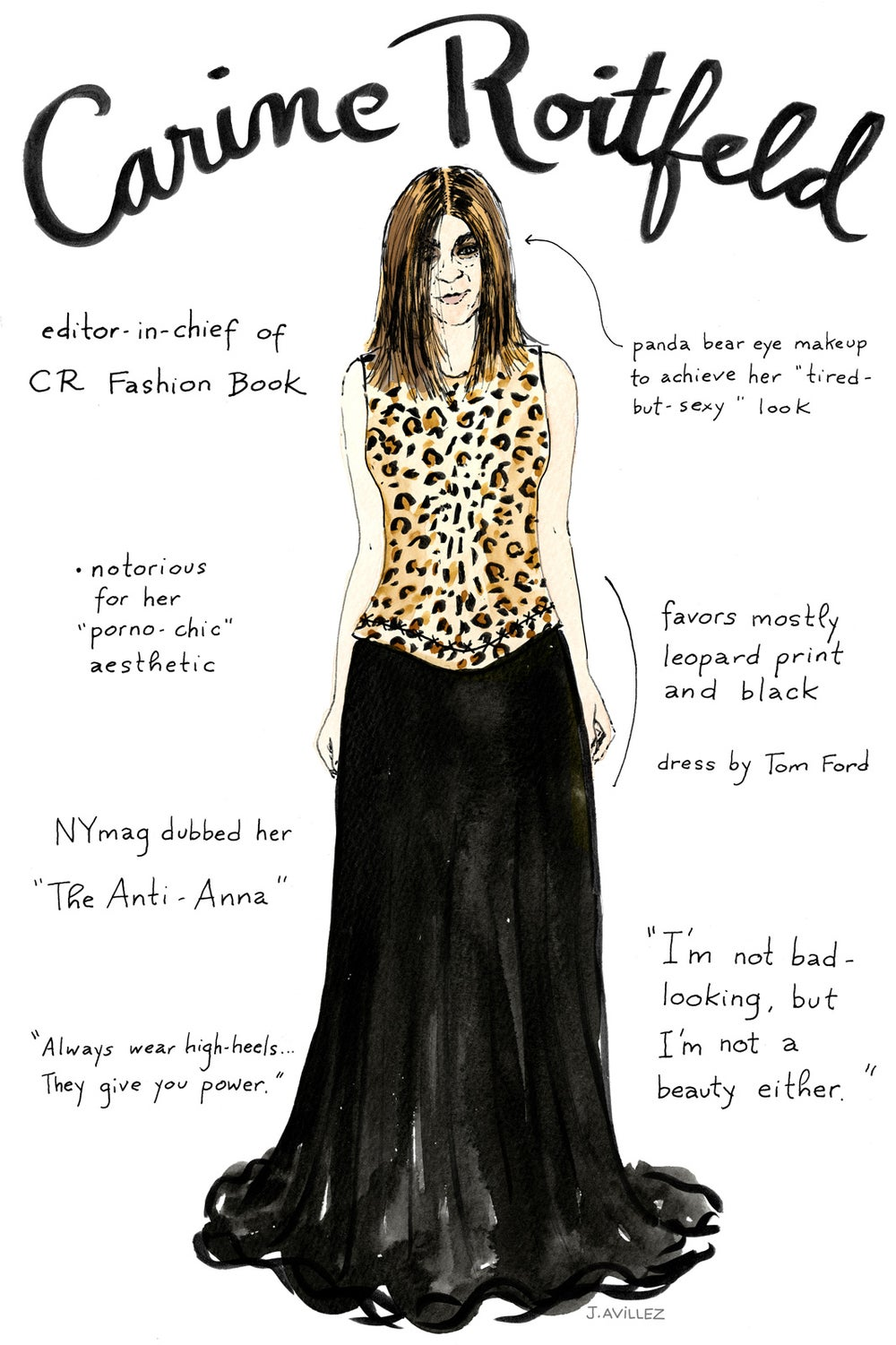Carine Roitfeld — editor-in-chief